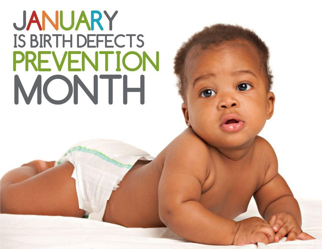 National Birth Defects Awareness Month