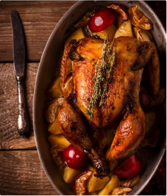 2. Canva-Roasting Turkey